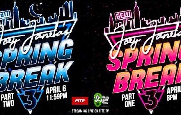 "RADICAN'S 4/7 GCW ""Joey Janela's Spring Break 3: Part 2 report – LAX vs…."