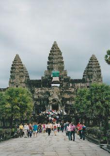Angkor Wat At Dawn http://jouljet.blogspot.com/2012/09/angkor-wat-at-dawn.html #Cambodia #travel