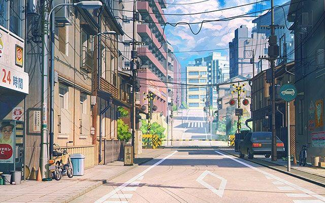 خلفيات انمي للكمبيوتر والجوال عالية الدقة مداد الجليد Desktop Wallpaper Art Anime Scenery Wallpaper Anime Scenery