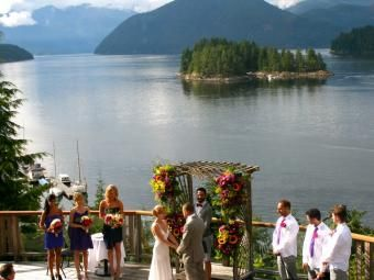 Vancouver Wedding Venues: West Coast Wilderness Lodge