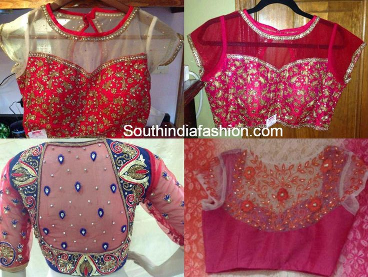 111 best saree blouse designs images on Pinterest Indian outfits