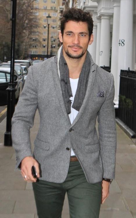 seriously hot!!This Man, British Men, David Gandy, Smart Casual, Men Style, British Style, Men Fashion, Green Pants, Davidgandy