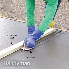 A pro shows you how to build strong forms, place a solid slab and trowel a smooth finish