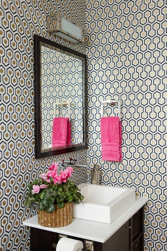 Honeycomb wallpaper (anne hepfer)