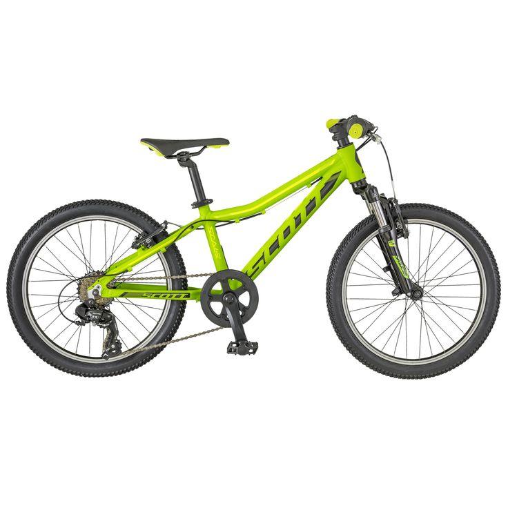 Le SCOTT Scale JR 20 est un modèle hautement fonctionnel pour les jeunes  cyclistes qui aiment