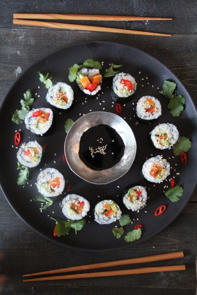 Sushi – en vegetar versjon