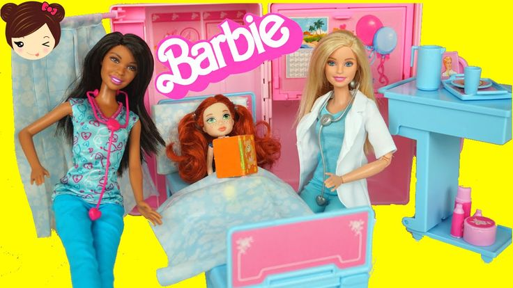 ... Hospital de Barbie Doctora y Enfermera - <b>Juguetes</b> de Barbie - YouTube