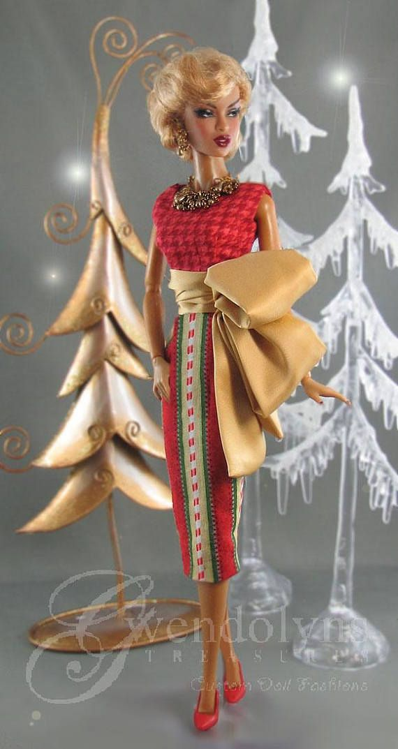 CANDY CANE COUTURE Fashion for Silkstone FR2 and Victoire