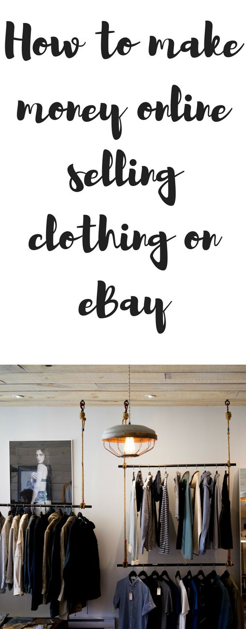 How to make money online selling clothing on eBay & etsy full time with income reports!