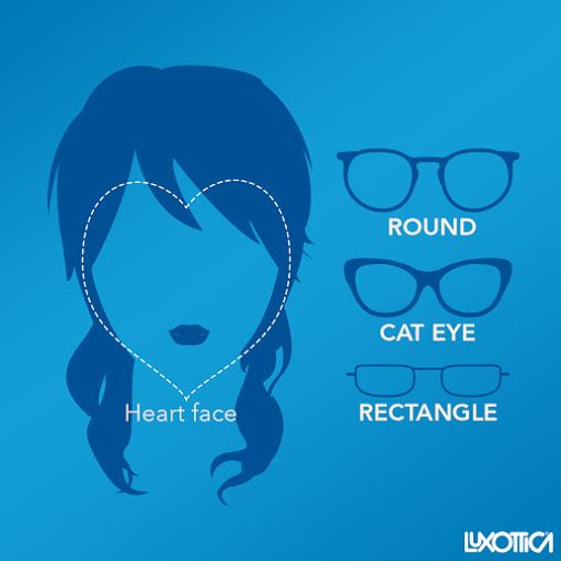 What kind of glasses are better for a square shaped face?