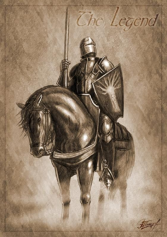 The knight of the laughing tree. Lyana Stark.