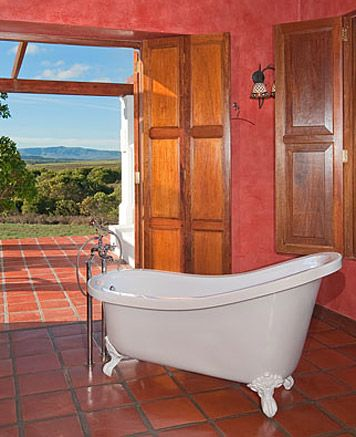 Protea Suite: freestanding bathtube - amazing