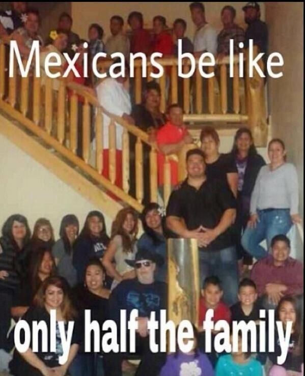 For me this is like 1/8 of my dads side of the family.