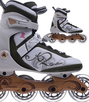 Try Green Inline Skates and Help Save Our Environment: K2 Eco Maia Women's Inline Skates Help Save the Environment