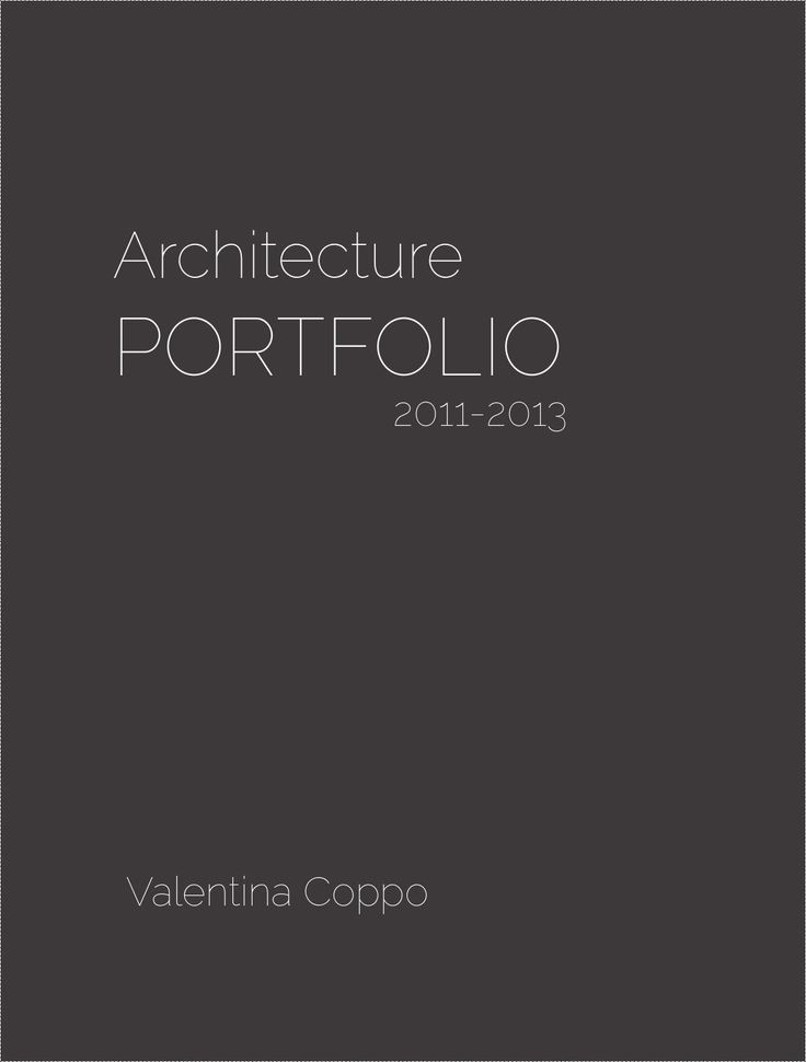 Portfolio Valentina Coppo issuu  Selected works 2011-2013