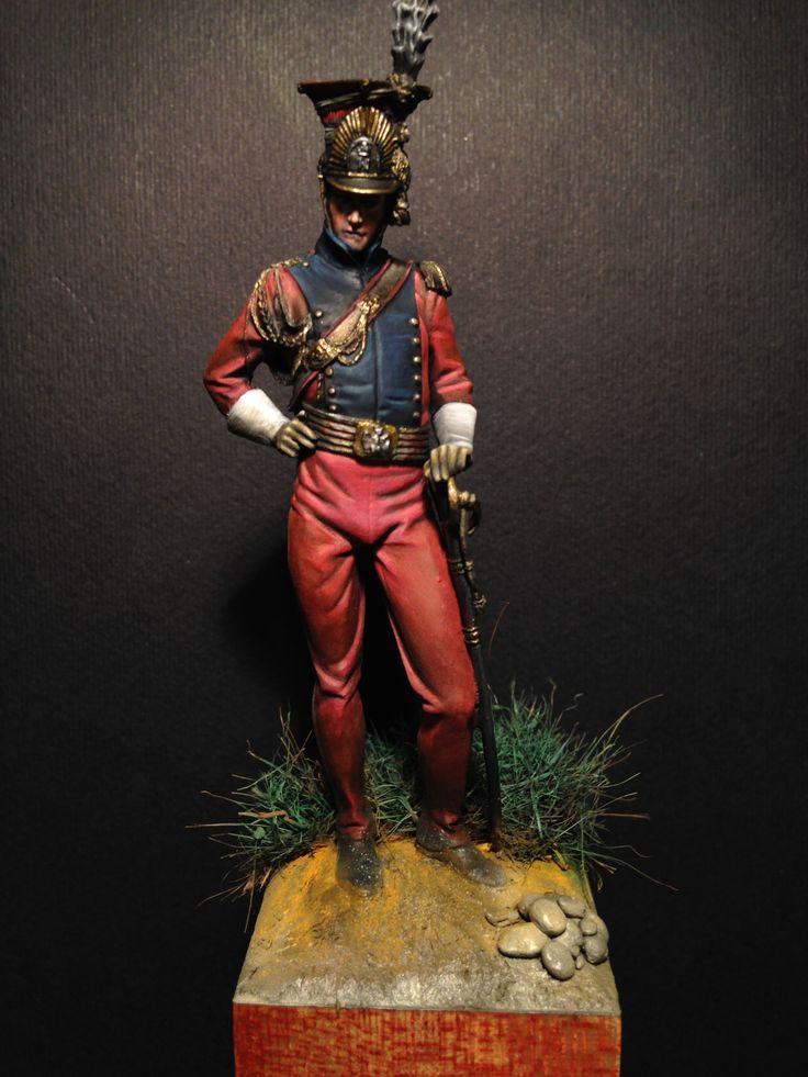Lanciere olandese della guardia imperiale francese
