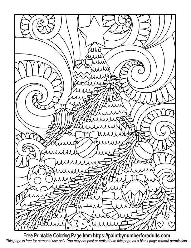 Christmas Tree Coloring Page Printable Christmas Coloring Pages Christmas Tree Coloring Page Free Christmas Coloring Pages
