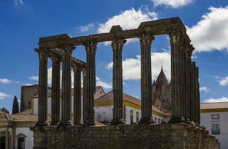 Blog Ativa   Templo Romano de Évora