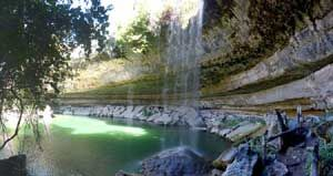 Drive 30 miles west of Austin to Hamilton Pool to see an amazing swimming hole/cave/waterfall that was featured in the film Tree of Life. If the weather is too cold to swim, take some time to hike there instead (and stop for BBQ at Opie's on the way home).