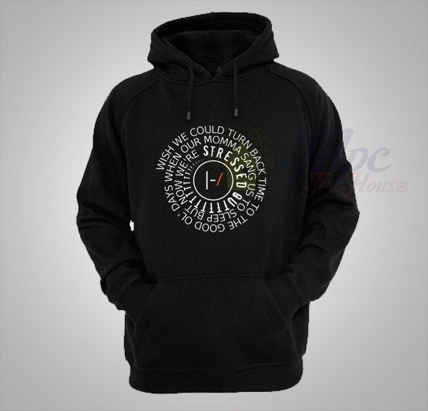 Like and Share if you want this  Twenty One Pilots Stressed Out Lyrics Unisex Hoodie     Twenty One Pilots Stressed Out Lyrics Unisex Hoodie Jacket Collection The design is printed locally with eco-friendly water based inks using a digital printing method that guarantees a long lasting and durable print. Twenty One Pilots Stressed Out Lyrics Unisex Hoodie onto Gildan Hoodies, 80% cotton and ...    Tag a friend who would love this!     FREE Shipping Worldwide     Get it here…