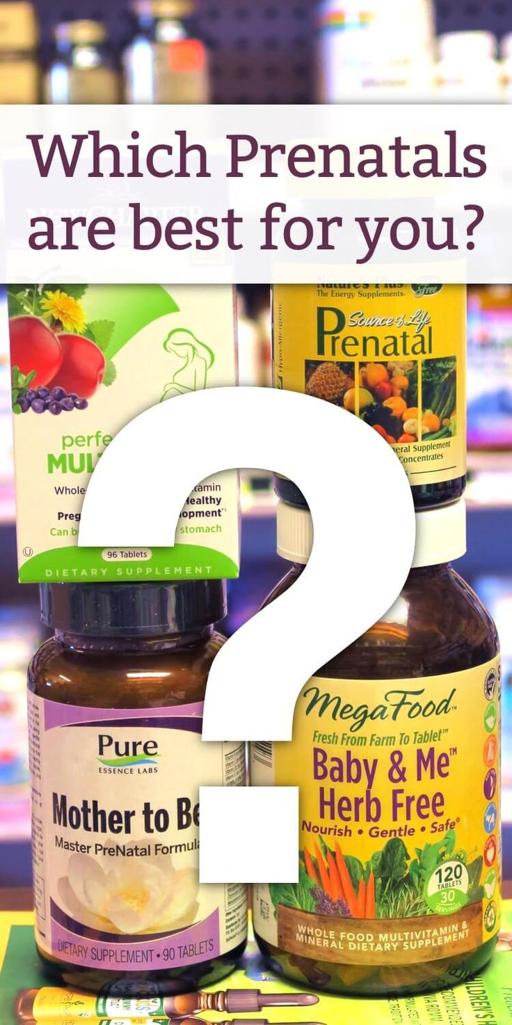 Wondering what the best prenatal vitamins are for your growing baby? Find out in this post which ones are best for you based on your health and lifestyle. http://www.mamanatural.com/best-prenatal-vitamins/