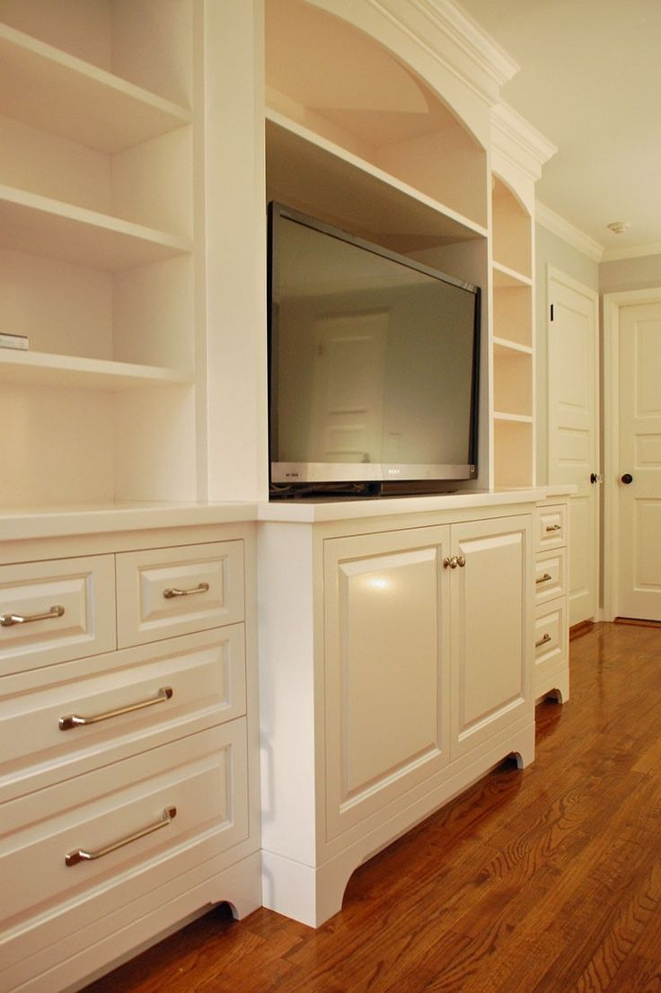 Custom Made Colonial Bedroom Entertainment Center By John