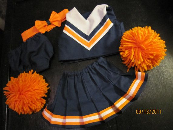 Design your own American Girl Doll Cheer Outfit