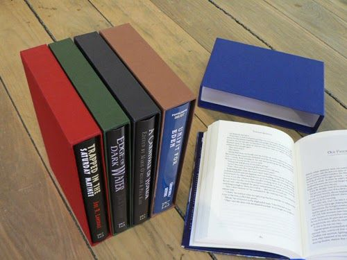 Slipcases made by W MacCarthy & Sons