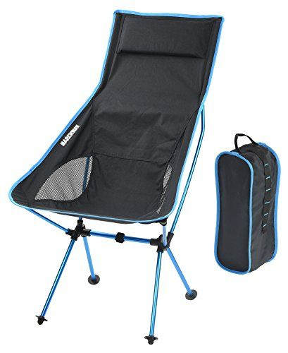Unique Camping Chairs MARCHWAY Lightweight Portable Folding High Back Camping Chair with Pillow for Outdoor Sport Unique - Minimalist packable chair For Your Plan