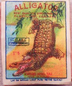 auction ebay firecracker label vintage