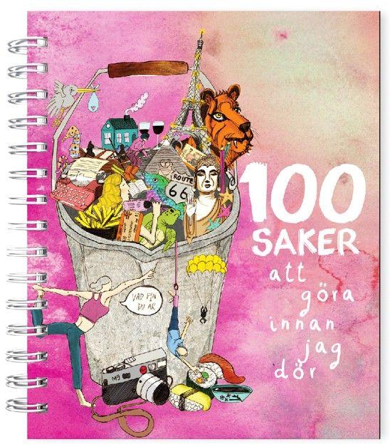 100 saker att göra innan jag dör (Fyll-i-bok) | Presenteriet.se