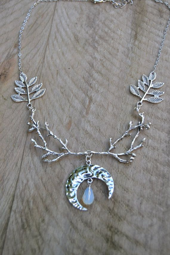 Best 25 wiccan jewelry ideas on pinterest space jewelry wiccan witch necklace woodland diana moon goddess necklace crystal crescent moon necklace silver wiccan jewelry nature goddess necklace aloadofball Choice Image