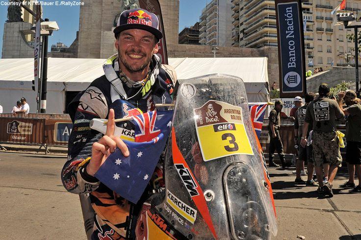 Toby Price Dakar 2016