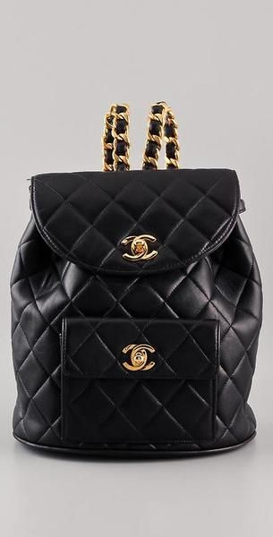 How does this fab Fashion House make school look chic? - Chanel Backpack.