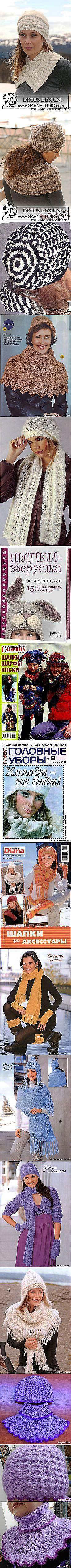 Любовь Винокурова: Вязание - аксессуары.   Постила