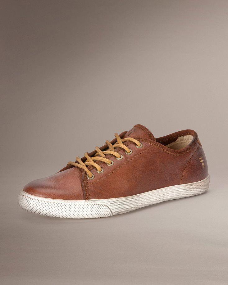 $148 Men's Leather Sneakers - Men's Sneakers | The Frye Company