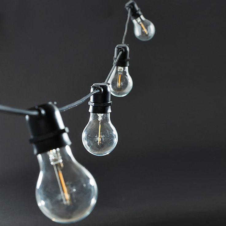 ber ideen zu outdoor lichterketten auf pinterest partybeleuchtung lichtergirlande und. Black Bedroom Furniture Sets. Home Design Ideas