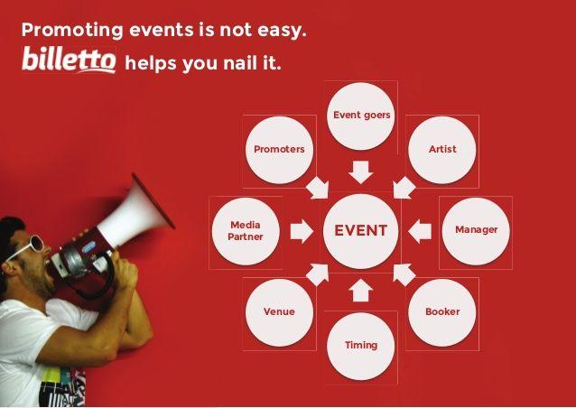Det vi gør! #billetto #events #billettohjælper #promovering