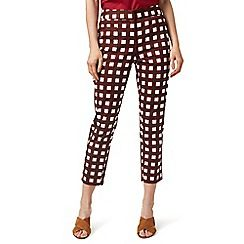 J by Jasper Conran - Red checked trousers
