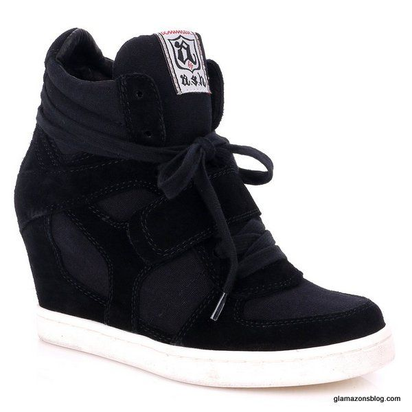 ash-cool-wedge-sneaker-glamazons-blog-black. Hmmm I just don't know..think they r growing on me