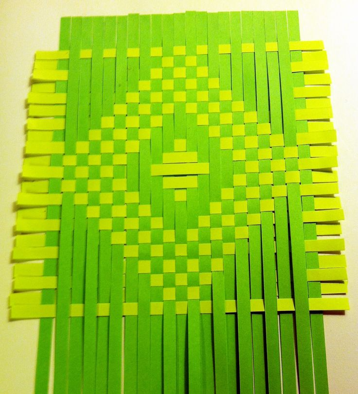 How To Weave A Basket Using Construction Paper : Best paper weaving ideas on fabric