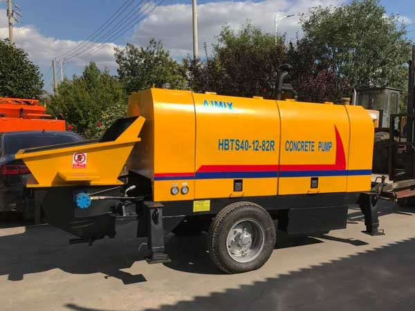 Trailer Mounted Concrete Pump South Africa In 2020 Hydraulic Systems Concrete Mixers Concrete