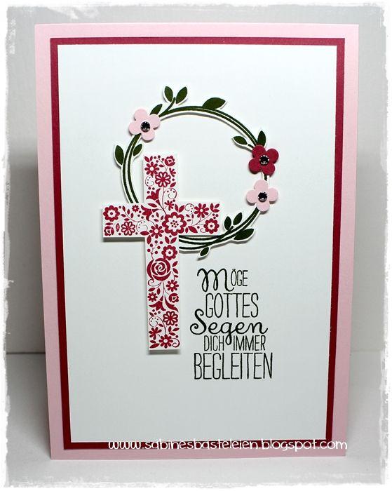 Sabines Basteleien: ~ Kommunion ...