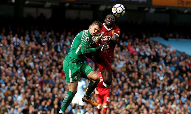 Sadio Mane's high-foot was not red card says Chris Sutton