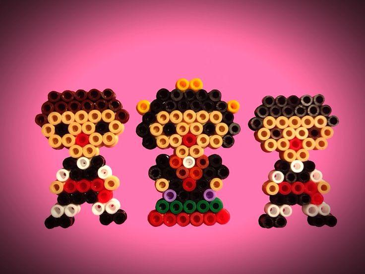 Broche Hama Beads