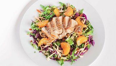 Aziatische salade met kip - FemNa40