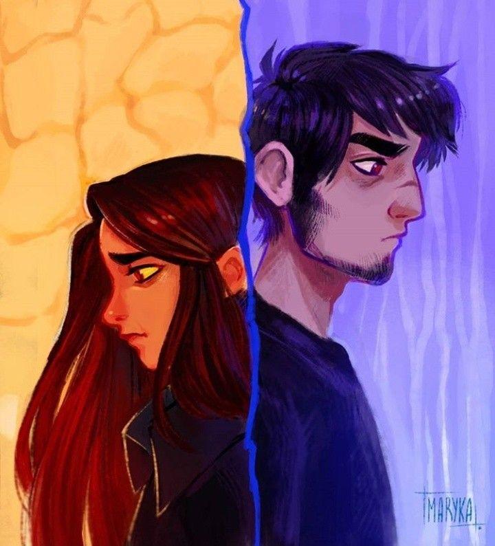 Картинки персонажей из комиксов ава и ее демон