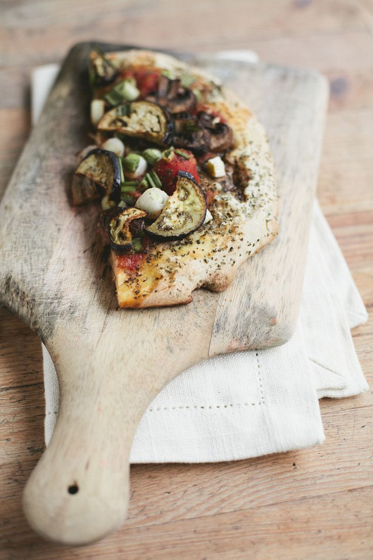 easy homemade veggie pizza