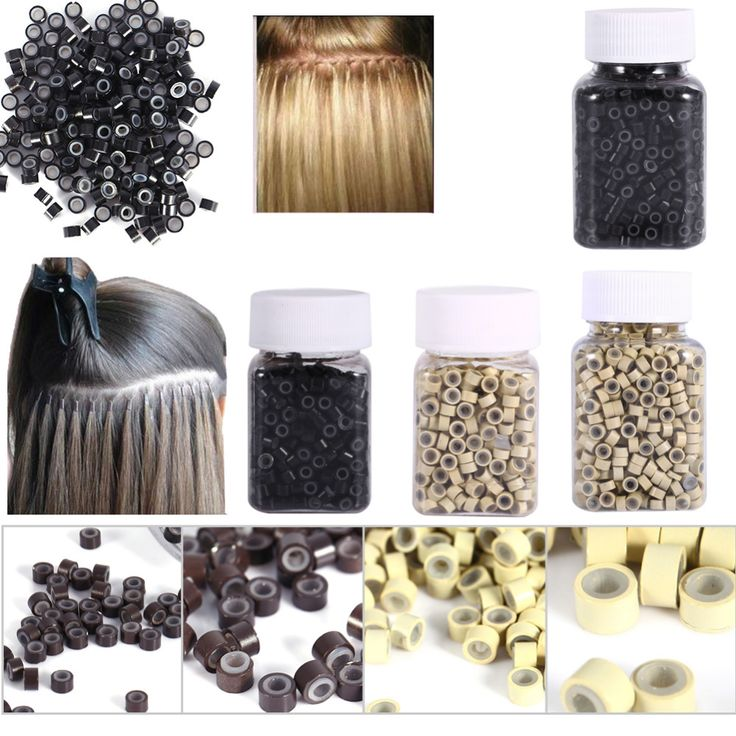 25 beautiful micro bead hair extensions ideas on pinterest micro rings 43mm 200500pcs micro crimp beads micro bead hair silicone ring pmusecretfo Image collections