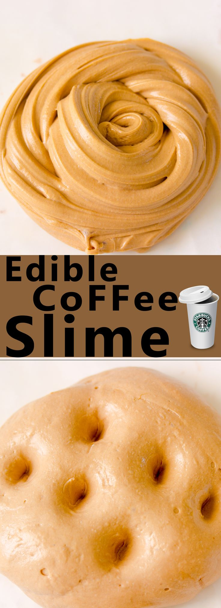Make This Three Ingredient Coffee Edible Slime That Is So Easy To Make And  Makes The